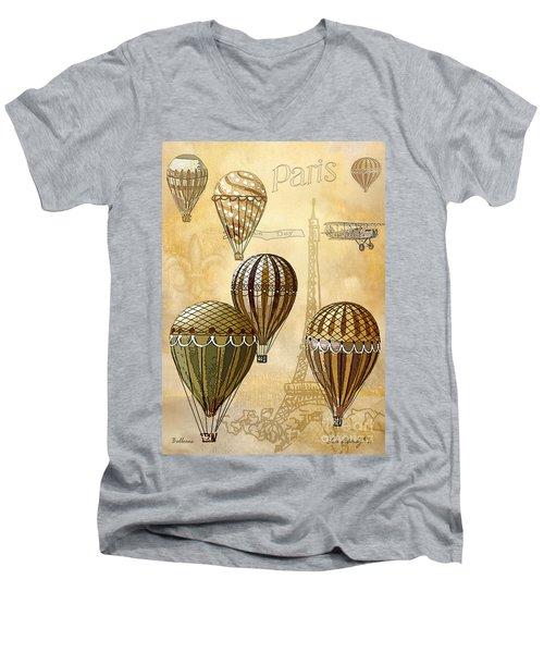 Balloons Men's V-Neck T-Shirt