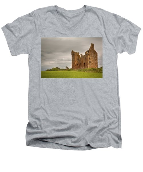 Baltersan Tower Men's V-Neck T-Shirt