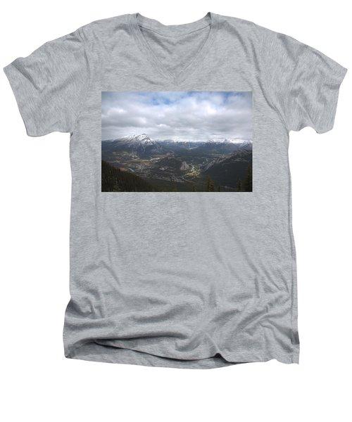 Banff Men's V-Neck T-Shirt