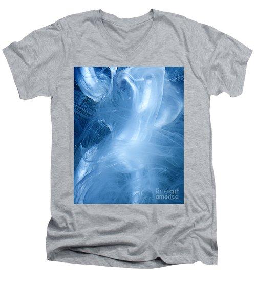 Banshee Men's V-Neck T-Shirt by Liz Masoner