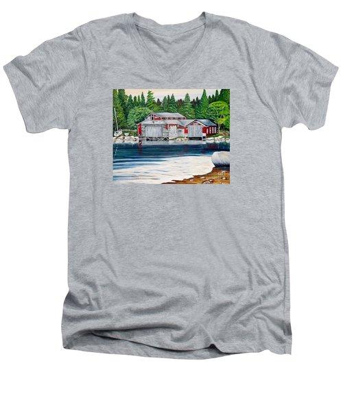 Barkhouse Boatshed Men's V-Neck T-Shirt