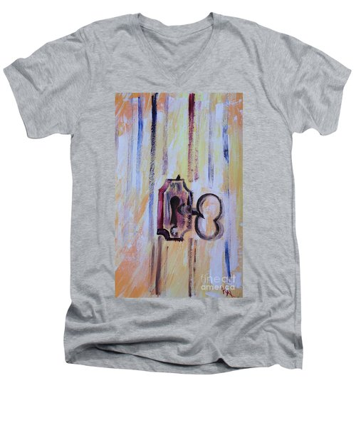 Barn Secrets Men's V-Neck T-Shirt
