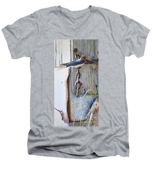 Barn Swallow Men's V-Neck T-Shirt