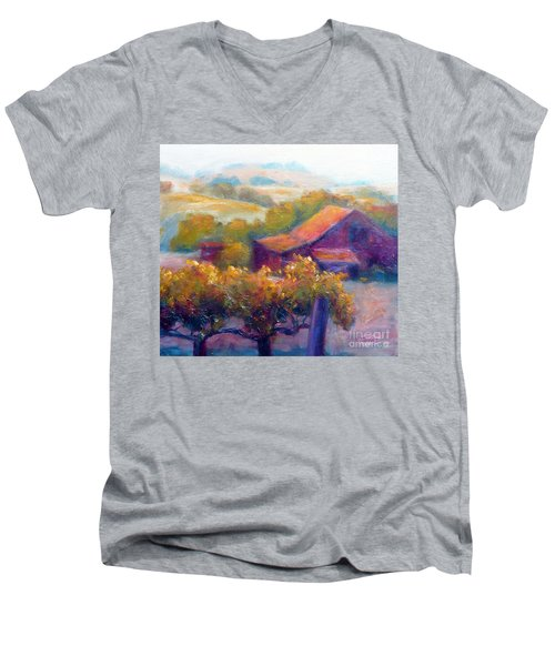 Barn Vineyard Men's V-Neck T-Shirt