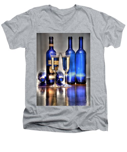 Bartenura Moscato Men's V-Neck T-Shirt