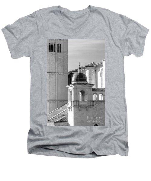 Basilica Details Men's V-Neck T-Shirt