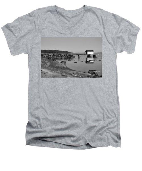 Bathing Jetty 2 Men's V-Neck T-Shirt