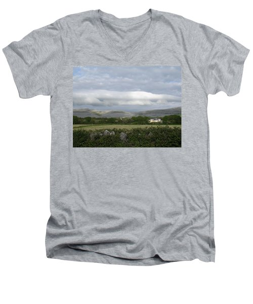 Baughlyvann Clouds Men's V-Neck T-Shirt