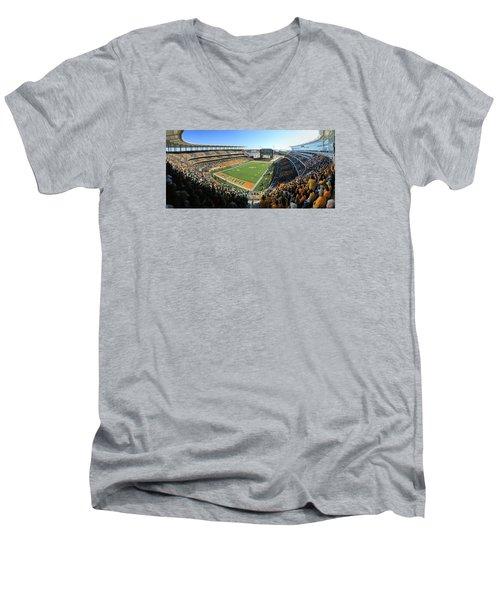 Baylor Gameday No 5 Men's V-Neck T-Shirt