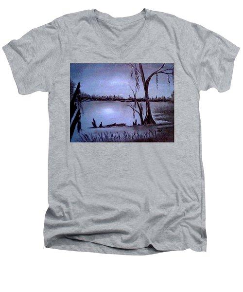 Bayou Dreams Men's V-Neck T-Shirt