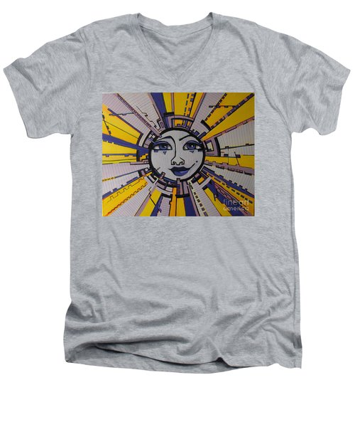 Bazinga - Sun Men's V-Neck T-Shirt