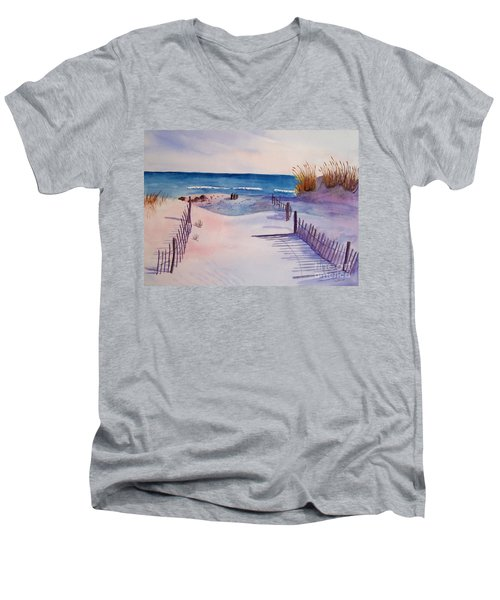Beach Afternoon Men's V-Neck T-Shirt