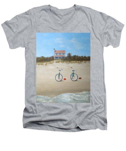 Beach Buddies Men's V-Neck T-Shirt
