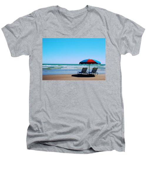 Beach Dreams Men's V-Neck T-Shirt