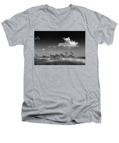 Beach Scene Men's V-Neck T-Shirt