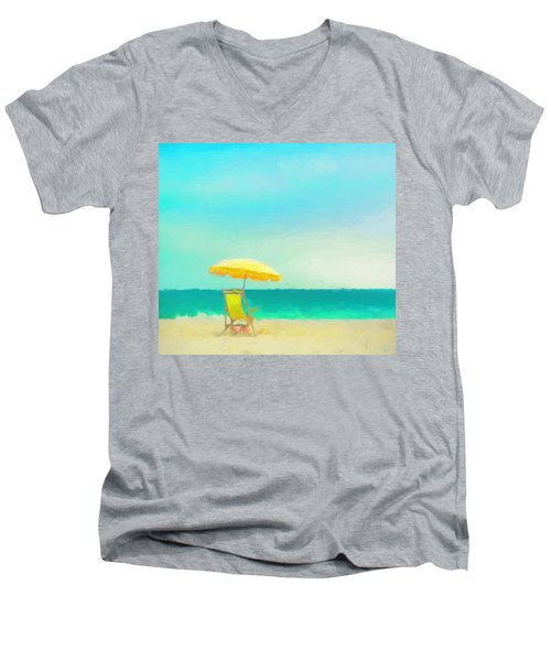Got Beach? Men's V-Neck T-Shirt by Douglas MooreZart