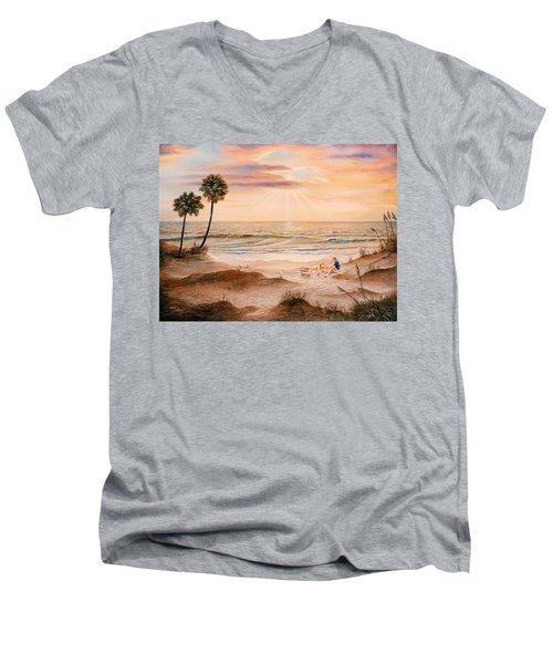 Beachcombers Men's V-Neck T-Shirt