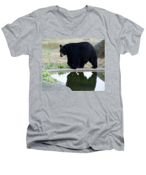 Bear 2 Men's V-Neck T-Shirt