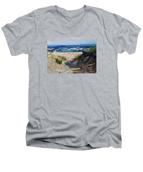 Bearberry Hill Truro Men's V-Neck T-Shirt