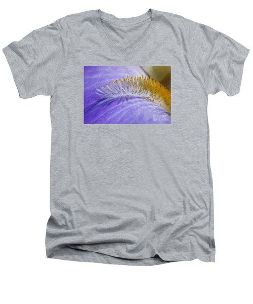 Beard Of The Iris Men's V-Neck T-Shirt