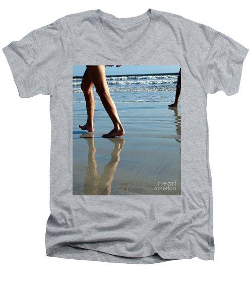 Beat Feet Men's V-Neck T-Shirt