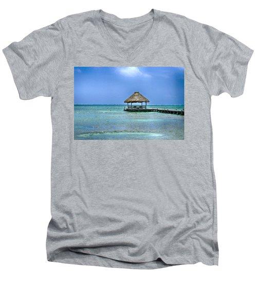 Beautiful Belize Men's V-Neck T-Shirt