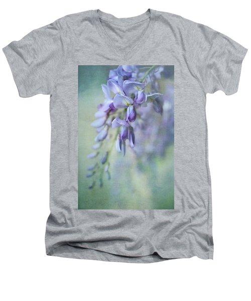 Beautiful Blue Men's V-Neck T-Shirt