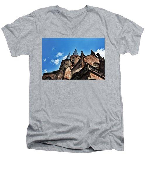 Beautiful Church  Men's V-Neck T-Shirt by Daniel Precht