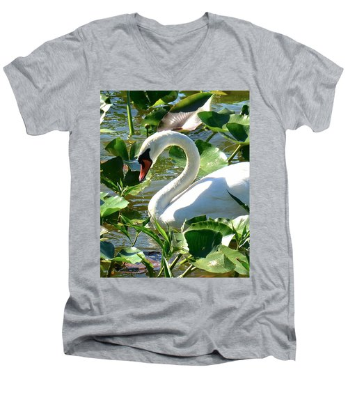 Beautiful Men's V-Neck T-Shirt