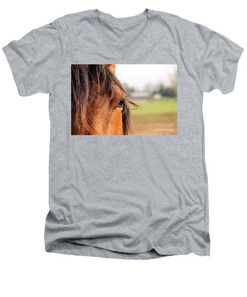 Beautiful Eye Men's V-Neck T-Shirt
