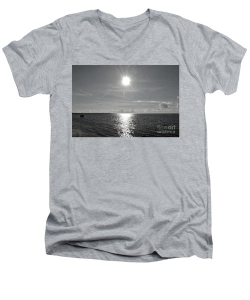 Beautiful Morning Men's V-Neck T-Shirt by Amar Sheow