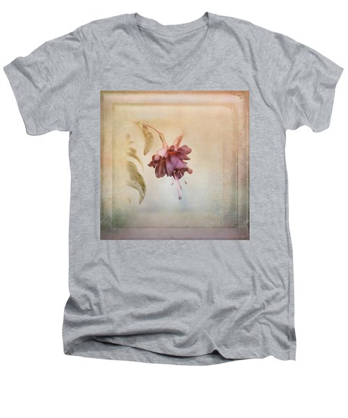 Beauty Fades Softly Framed Men's V-Neck T-Shirt