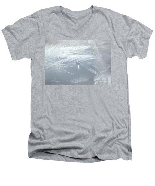 Beauty Of White Men's V-Neck T-Shirt