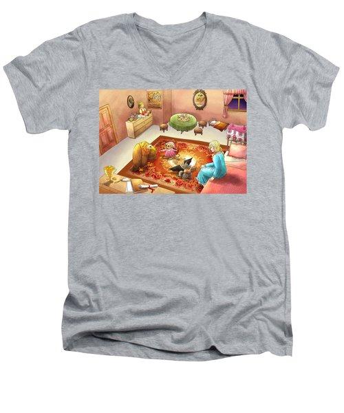 Bedtime For Tammy Men's V-Neck T-Shirt