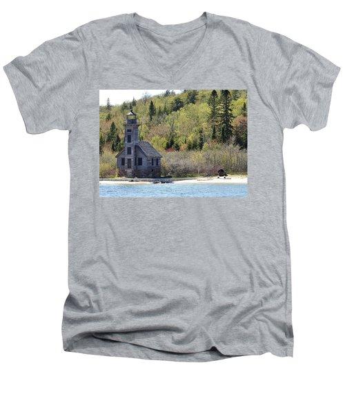 Before Restoration Men's V-Neck T-Shirt