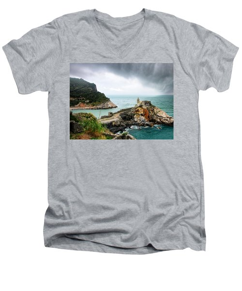 Before The Storm Men's V-Neck T-Shirt by William Beuther