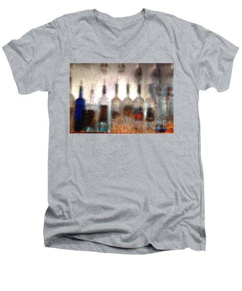 Behind The Bar Men's V-Neck T-Shirt