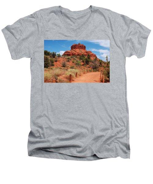 Bell Rock - Sedona Men's V-Neck T-Shirt