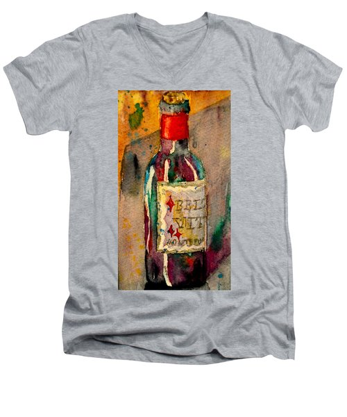 Bella Vita Men's V-Neck T-Shirt by Beverley Harper Tinsley