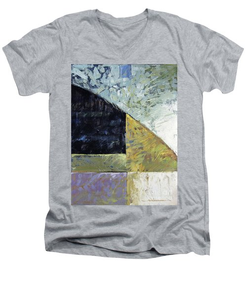 Bent On Abstraction Men's V-Neck T-Shirt