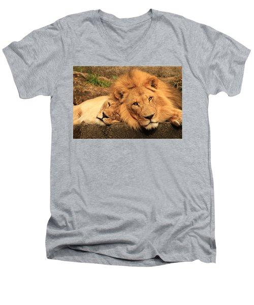 Best Friends For Life Men's V-Neck T-Shirt