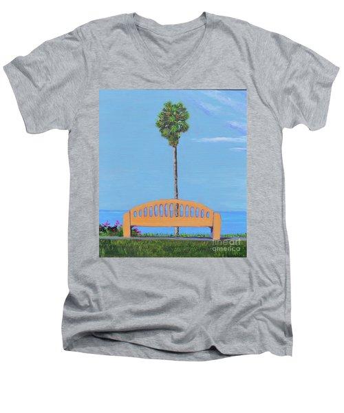 Best Seat In San Clemente Men's V-Neck T-Shirt