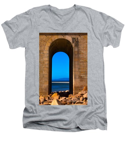 Between Sea And Sky Men's V-Neck T-Shirt