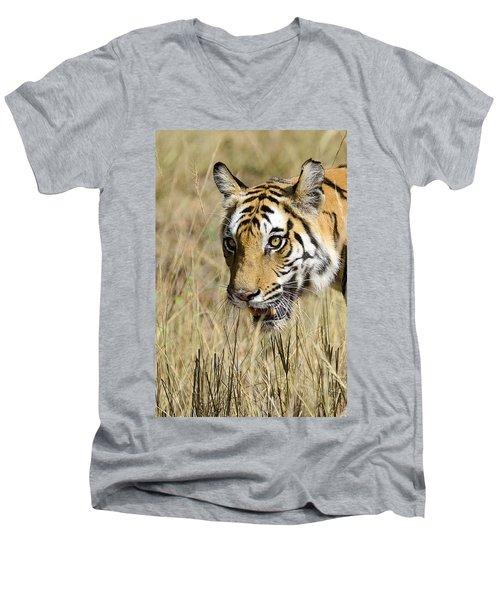Beware Men's V-Neck T-Shirt