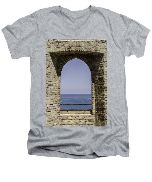 Beyond The Gate Of Infinity Men's V-Neck T-Shirt