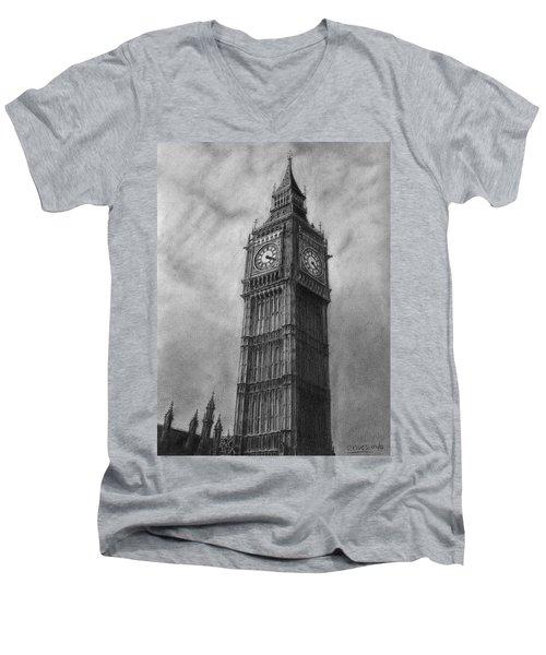 Big Ben London Men's V-Neck T-Shirt