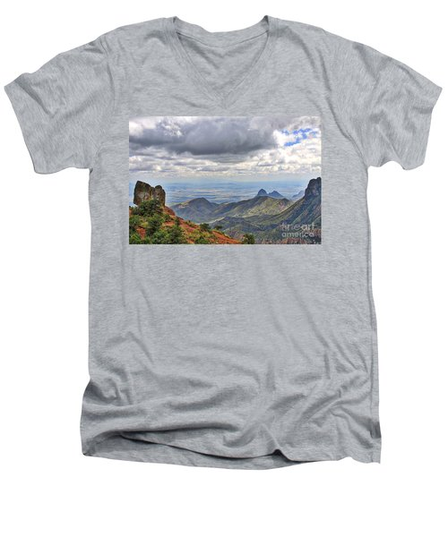 Big Bend National Park Men's V-Neck T-Shirt