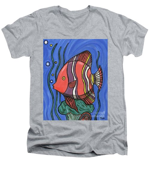 Big Fish Men's V-Neck T-Shirt