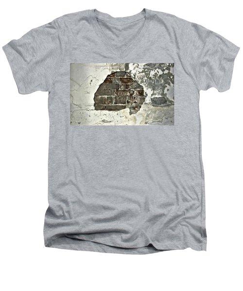 Big Hair Abstract Men's V-Neck T-Shirt