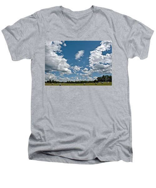 Big Sky Men's V-Neck T-Shirt